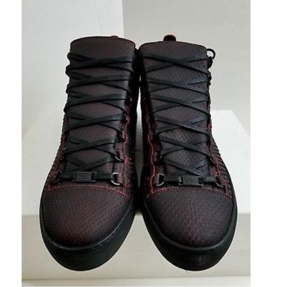 33e8f985f89 Balenciaga Shoes | Arena Shoe Python Bicolore Blackorange | Poshmark
